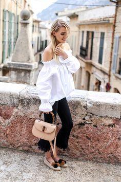 FRINGE DENIM & ESPADRILLES   POLLENCA, SPAIN ohh couture waysify
