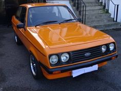 Classic Fords For Sale, Ford Classic Cars, Escort Mk1, Ford Escort, Ford Rs, Mk 1, Orange Crush, Rally, Planes