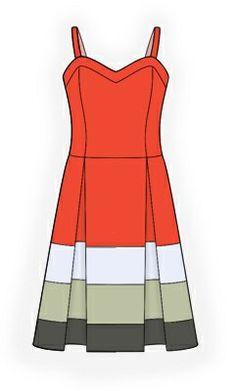 4131 PDF Dress Sewing Pattern  Women Clothes by TipTopFit on Etsy