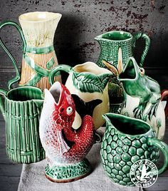 Pottery is the real core of the nation's creative production.