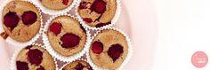 Havermout muffins met frambozen
