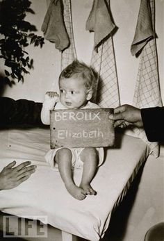 """Do you know me? This baby girl is part of the """"Remember Me Project"""" being conducted by the United States Holocaust Memorial  Museum to discover the story behind and what became of the children in the photographs they have gathered."""