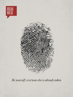 Оскар Уайльд: «Будь собой. Прочие роли уже заняты»