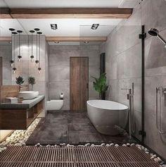 Minimal Interior Design Inspiration - Home Fashions Bathroom Design Inspiration, Bathroom Interior Design, Decor Interior Design, Design Ideas, Modern Interior, Scandinavian Interior, Design Blogs, Design Trends, Design Concepts
