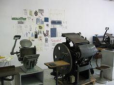 Nora letterpress studio (Italy)
