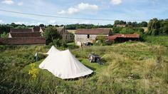 5 kleine natuurcampings in Normandië - Tips voor je vakantie in Frankrijk Holidays France, Wanderlust, Camping, Explore, Distance, Outdoor Decor, Outdoors, Travel, Corse