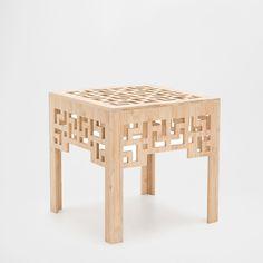 GEOMETRIC DESIGN SQUARE TABLE - Occasional Furniture - Decoration   Zara Home United States of America