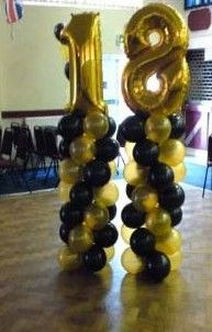 Image Detail For 18th Birthday Balloon Decorations Balloons