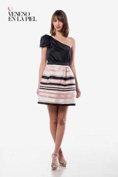 Vestido corto ideal para Bodas, Bautizos y Comuniones! Veneno en la Piel