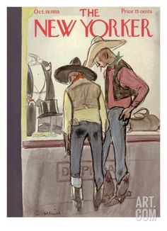 The New Yorker Cover - October 19, 1935 Premium Giclee Print by William Galbraith Crawford at Art.com