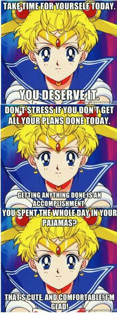 Self positive Sailor Moon  This should be a thing.