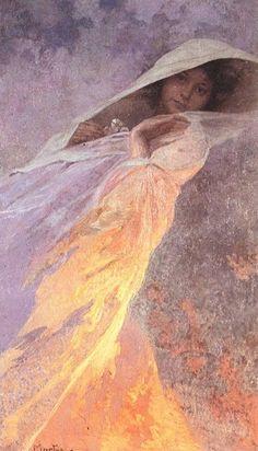 Alphonse Mucha, Heda 1916 on ArtStack Art Nouveau Mucha, Alphonse Mucha Art, Illustrator, Inspirational Artwork, Vincent Van Gogh, Love Art, Gustav Klimt, Oeuvre D'art, New Art
