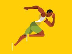 Bolt. Geometric illustration