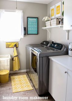 Laundry Room Colors interiorcrowd | home, laundry and laundry room makeovers