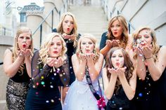 Chicago Bachelorette Photo Session with confetti - by Christopher|F Photography - www.ChristopherFPhotography.com
