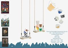 Visit the Northlight Homestore Pop Up Shop to see collections from Rifle Paper Co., Garance Dore, House of Rym, Elvang, Darling Clementine, Bengt & Lotta and much more.  Only until the 16th September 2015