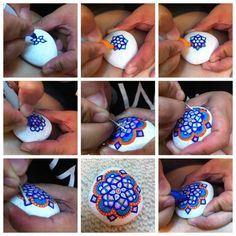 How Diana Ling paints her beautiful stones