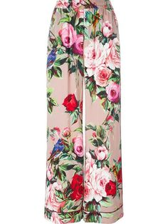 Shop Dolce & Gabbana printed palazzo pants in Tiziana Fausti from the world's best independent boutiques at farfetch.com. Shop 400 boutiques at one address.