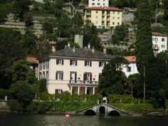 George Clooney's House Lake Como