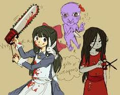 Sachiko and Mad Father cross over
