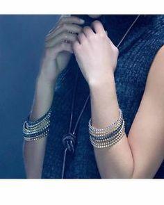 Kendra Scott Remy Bangle Bracelet Mixed Metal Set of 5 Gold Silver Rose Gunmetal