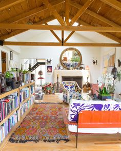 House Tour: A Colorful Topanga Canyon Home   Apartment Therapy