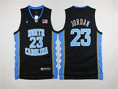Cheap Dancelown Exclusive Basketball Jersey North Carolina Jersey Collage Jersey North Carolina 23 Black Father day sale