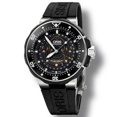 ORIS ProDiver Pointer Moon Turning the Tide (See more at En/Fr/Es: http://watchmobile7.com/articles/oris-prodiver-pointer-moon) #watches #montres #relojes #oris @oris