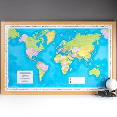 Personalised Places We Have Been - World Map | GettingPersonal.co.uk