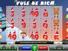Yule, Games To Play Now, Coin Values, Free Slots, Last Christmas, Online Gratis, Slot Machine, Holiday Decor