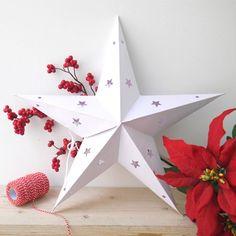 Estrella de papel, 40 cm