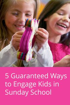 While it may seem counterintuitive at first, here are 5 things you can do to guarantee kids will be engaged in your lesson and remember the Bible points for weeks to come.