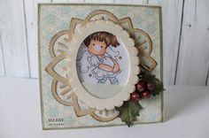 Couture Creations: Christmas in June Card by Bridget Louw | Couture Creations Nesting Dies, Fantasia Doily Die,