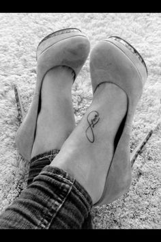 black and white, cute, fashion, foot tattoo   #tattoo  #foot  #girls   www.loveitsomuch.com