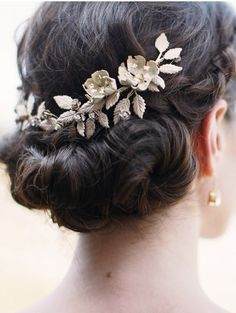 Grecian leaf | hair ornament | jewelry