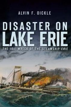 """On August 9, 1841, the steamship Erie, one of the most elegant and fastest sailing between Buffalo and Chicago, departed carrying 343 passengers. Many were Swiss and German immigrants, planning to start new lives in America's heartland—most never made it. The Erie erupted in flames during the night, and despite the heroic efforts of the crew of the Dewitt Clinton, 254 lives were lost. As news of this disaster spread, internationally renowned artists and writers, including Horatio Alger Jr. and possibly James Fenimore Cooper, wrote about """"John Maynard,"""" a fictitious heroic helmsman. Historian Alvin F. Oickle's minute-by-minute account weaves together the tragedy of the immigrant families almost at journey's end, the legend of John Maynard that developed in the aftermath and the fury of a fire on an oceanlike lake."""