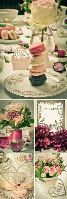 Vintage Porcelain meets Couture Papeterie