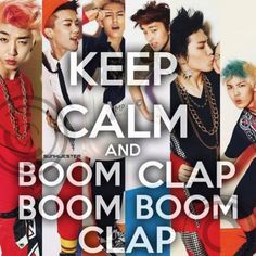 "Thanks to Simon ans Martina, I can't stop singing ""Boom, crap, boom, boom, crap"" ,_,"