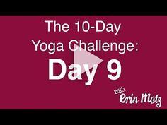 10 Day Yoga Challenge: Day 9