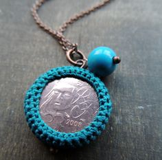 Great idea for souvenir coins from around the world.