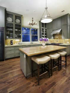 Painted Kitchen Cabinets Design, Pictures, Remodel, Decor and Ideas - page 8