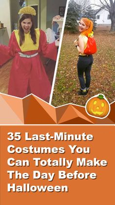 35 Last-Minute Costumes You Can Totally Make The Day Before Halloween