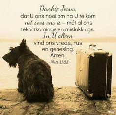Dankie Jesus*