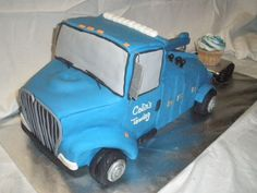 Tow Truck - Cake