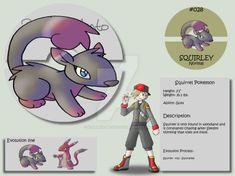 028 - Squirley by Pokemon-Mento