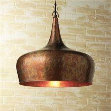 Copper Onion Dome Pendant