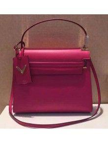 Valentino Single Handle Bag In Rosy Calfskin 2015