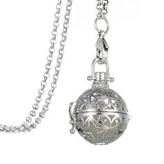 Find More Pendant Necklaces Information about  Filigree Magic Locket Antiqued Silver Plated Cage Essential Oil Diffuser Steampunk Necklace,High Quality steampunk necklace,China essential oil diffuser necklace Suppliers, Cheap silver plated from Winslet&Jean on Aliexpress.com