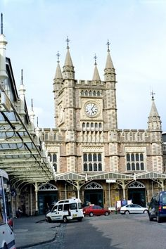 """Bristol - Temple Meads Station"" by Anna Chaleva at PicturesofEngland.com City Of Bristol, Bristol Uk, Fall City, Bristol England, The Beautiful Country, Gloucester, Somerset, Big Ben, United Kingdom"