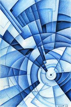 Color Pencil Drawing Ideas Non-objective Colored Pencil Design.line, shape, form, space, color and value 8th Grade Art, Monochromatic Color Scheme, Pencil Design, Principles Of Design, Middle School Art, High School, Color Pencil Art, Ap Art, Elements Of Art